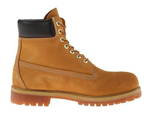 Timberland Mens 6 Premium Boot Impermeabile Grano / Nabuk