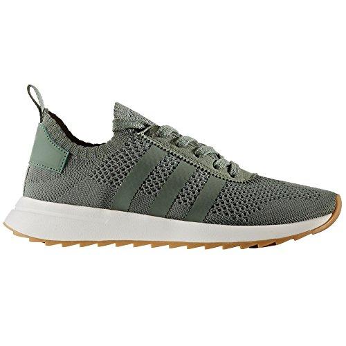 Adidas Primeknit Flashback FLB Sneakers, Zapatillas de Running para Mujer, Green