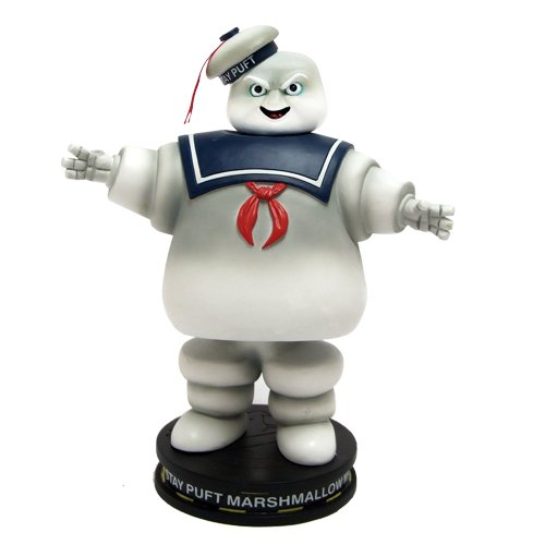 Factory Entertainment Ghostbusters Stay Puft Marshmallow Man Deluxe Premium Motion Statue (Swappable Heads) (T-shirt Ray Yellow)