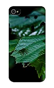 Ellent Design Raindrops On Leaves Phone Case For Iphone 5/5s Premium Tpu Case For Thanksgiving Day's Gift