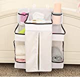 Baby Cribs with Changing Table on Sale SUZM Diaper Caddy Organizer, Multi-Use Hanging Nursery Storage for Newborn Baby Essentials, Baby Shower Gift Hang on Crib, Changing Table Or Wall Style B 19