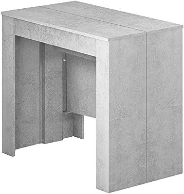Mesa consola extensible Oslo hasta 2,37 metros, mesa de 10 plazas ...