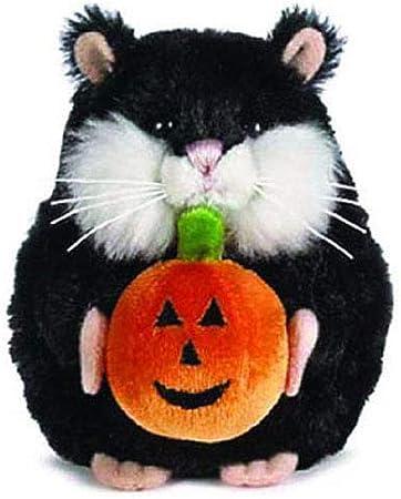 "Spookie Sparkles Orange Halloween Teddy Bear by Ganz 9/"""