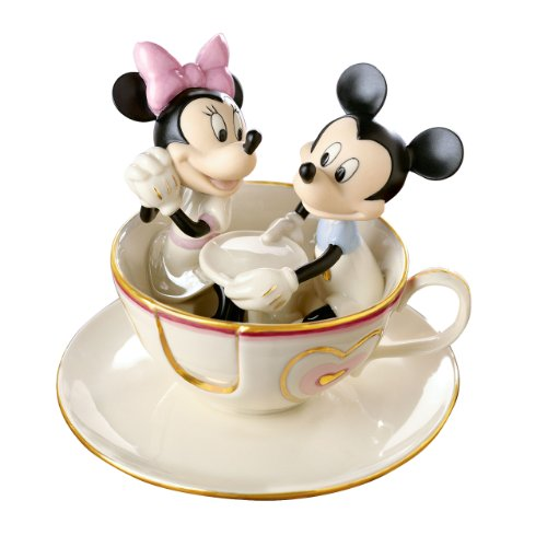 Lenox Disney Showcase Mickey's Teacup Twirl - Lenox Walt Disney Showcase