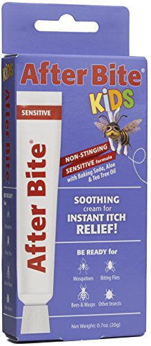 After Bite Kids, Sensitive Formula, Pharmacist Preferred Insect Bite & Sting Treatment, Natural Healing, Aloe Vera, Skin Protectant, Portable Instant Relief, Stop Itching Cream, 0.7-ounce]()