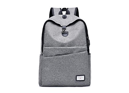 Aoligei Voyages d'agrément extérieur toile respirante pouces sac d'épaule double sac d'école A