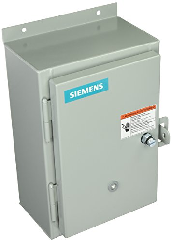 - Siemens 14CUB320A Heavy Duty Motor Starter, Solid State Overload, Auto/Manual Reset, Open Type, NEMA 12/3 and 3R Weatherproof Enclosure, 3 Phase, 3 Pole, 0 NEMA Size, 0.75-3.4A Amp Range, A Frame Size, 110-120/220-240 at 60Hz Coil Voltage