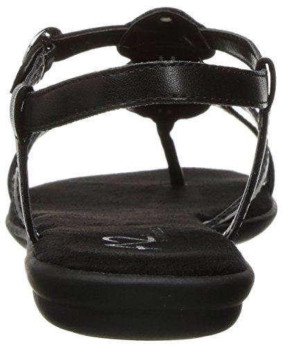 by Chlub Women Country Sandal Aerosoles Black Flat A2 SWUBfnB