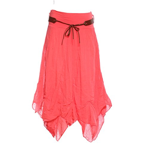 Medium Noir Femme Asymtrique Corail Noir Clothing Jupe Candy U6qaza