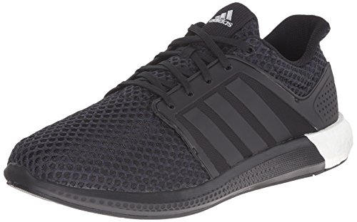 Image of the adidas Performance Men's Solar Boost M Running Shoe Black / Metallic Silver - 9 D(M) US