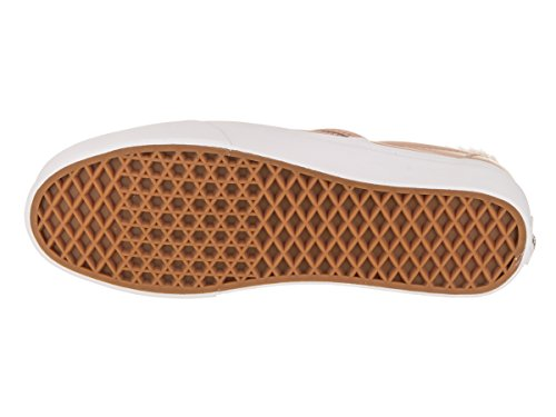 Camionnettes Unisexe Classique Slip-on (cuir) Chaussure De Skate Acajou Rose / Tw
