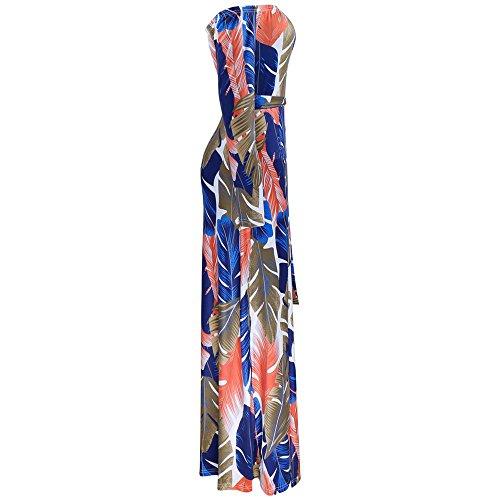 ... Damen Kleider, BBring Frauen Sommer Boho Langarm Schulterfrei Lang Maxi  Kleid Abendkleid Partykleid Strandkleid Sommerkleid ... e9e1223aee
