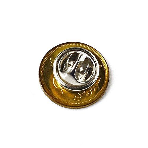 Quality Handcrafts Guaranteed Egypt Coin Lapel Pin