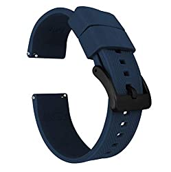 Image of the product 22mm Navy Blue   Barton that is listed on the catalogue brand of Barton Watch Bands.