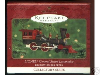 Lionel General Steam Locomotive (2000 Lionel General Steam Locomotive Hallmark Ornamet)