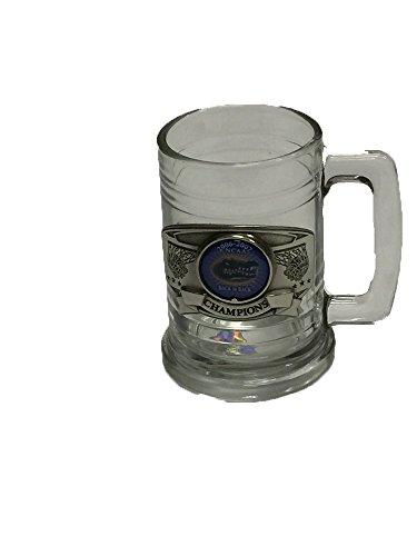 Florida Gators Back to Back Champions Pewter amd Glass Stein 2006-2007 (Gator Beer Glasses)