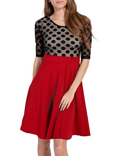 Ruched Bodice Silk Dress - 4