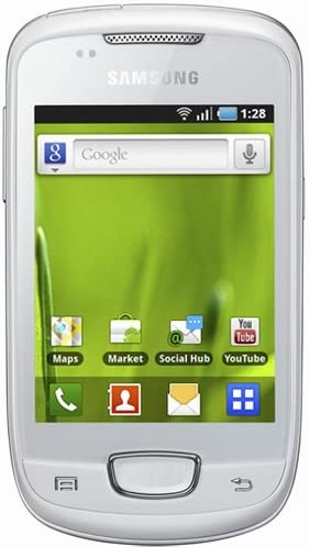 Samsung Galaxy Mini White S5570: Amazon.es: Electrónica