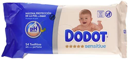🥇 Dodot Sensitive Toallitas para Bebé 15 Paquetes de 54 Unidades
