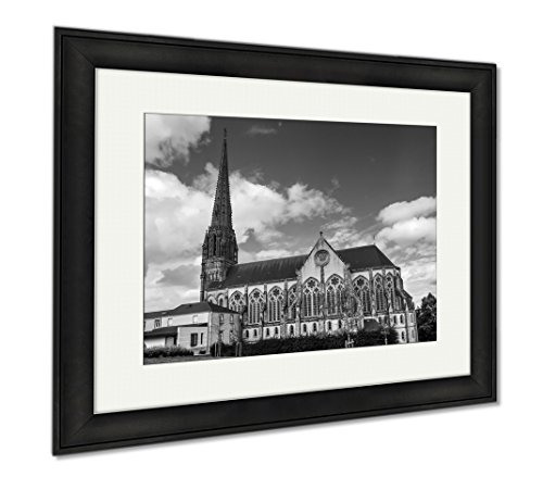 Ashley Framed Prints Chapel Of The Convent Of The Daughters Of Wisdom In Saintlaurentsursevre In The, Wall Art Home Decoration, Black/White, 26x30 (frame size), Black Frame, AG6546682 by Ashley Framed Prints