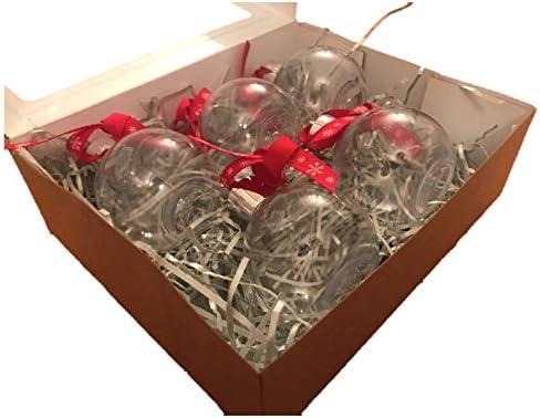 ASCAFO - Bolas de Navidad para Colgar, rellenables con ...