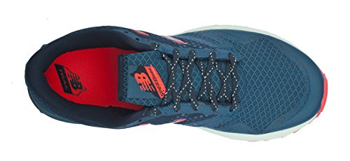 New Balance Womens Wt690 Trail Running Sneaker Verde Acqua / Rosa