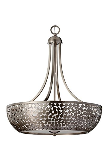 Murray Feiss F2745/4BS Zara Chandelier, 24.25W - Murray Feiss Table Torchiere