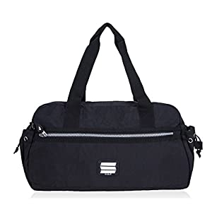 Suvelle Lightweight Small Duffle Weekend Handbag