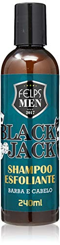 Men Black Jack Shampoo Esfoliante 240 ml, Felps, 240ml