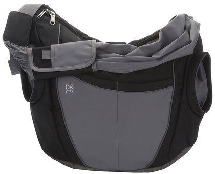 Daddy&Co Slide Diaper Bag in Black