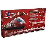 LE Toys LET13600 - Treno Italo Batteria con Radiocomando e Sound, Bordeaux