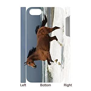 3D Bumper Plastic Case Of Horse customized case For iPhone 5 5s