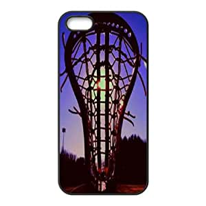 DDOUGS I play lacrosse Customized Cell Phone Case for Iphone 5,5S, Personalised I play lacrosse Case