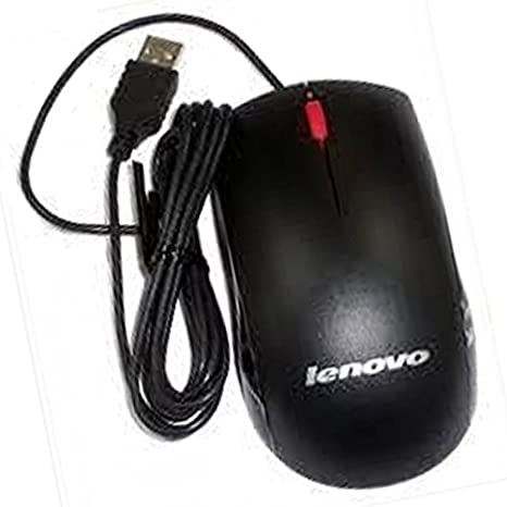 Lenovo M U0025 O 45j4888 Usb Maus Kabelgebunden 1000 Dpi 3 Tasten Schwarz