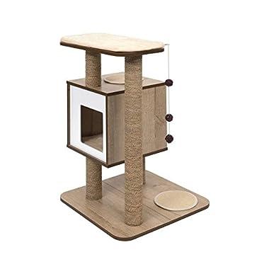 Vesper 52062 Base Oak Cat Furniture