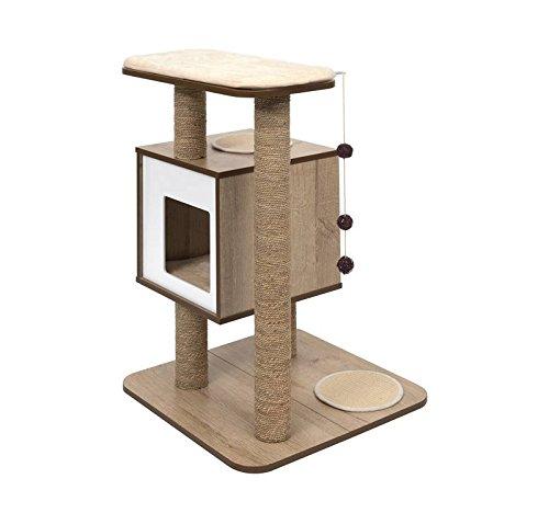 Vesper 52062 Base Oak Cat Furniture ()