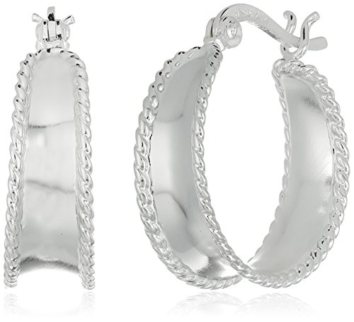 Sterling Silver Polished Braided Earrings product image