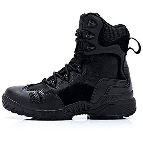 Tactique Recrues Randonnée Patrouille Militaire Chaussure Hommes Combat De Noir Bottes Sécurité Armée Chaussures Cuir Newbestyle Désert PRqv04nP