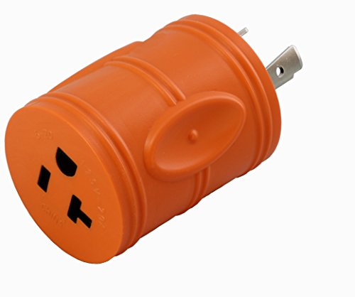 (AC WORKS Shore Power Adapters (L5-20P 20A Locking to 15/20A Household))