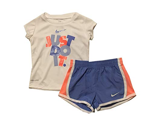 Nike Dri-Fit 'Just Do It' Tee & Short Set (Baby Girls) (12 Months) ()