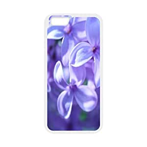 IPhone 6 Cases Elegant Violet, Iphone 6 Case for Women - [White] Okaycosama