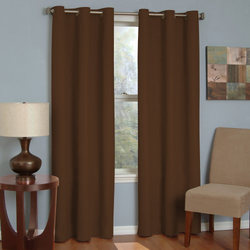 Eclipse Microfiber Grommet Blackout Window Curtain Panel (Eclipse Curtains Microfiber Grommet Blackout Window Panel)