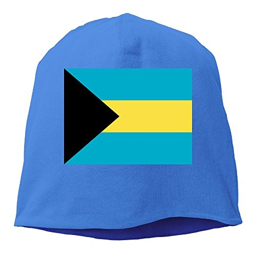 Jie Shikang Bahamas Flag Men & Women Unisex Soft Hat Skull Cap Beanie Hat Knit Hat