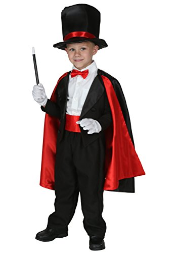 Toddler Magic Magician Costume 4T (Cummerbund Costume)