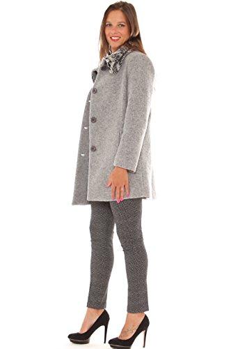 La Tulip - Abrigo - para mujer gris luminoso (ral 7035)