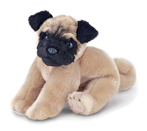 (Bearington Pugsly Pug Plush Stuffed Animal Puppy Dog, 13)
