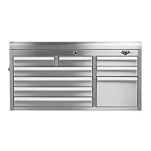 Viper Tool Storage V4109SSC 41-Inch 9-Drawer 304 Stainless Steel Tool Chest