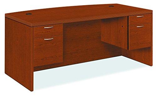 HON 11595ACHH Valido 11500 Bow Top Double Pedestal Desk, 72