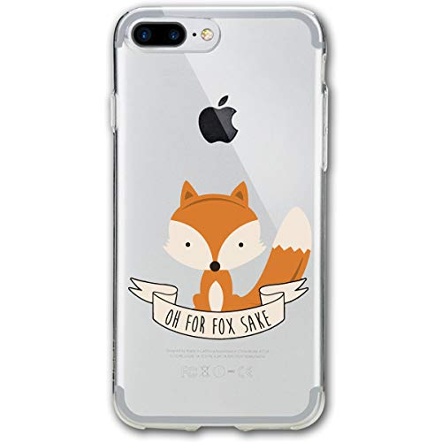 (Fashion iPhone 8 Case iPhone 7 Case On for Fox Sake Scratch Proof Shock Absorption Mobile Phone Shell 4.7-inch)