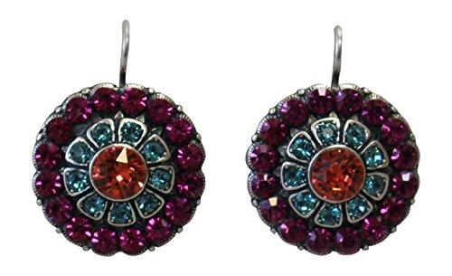 Ayala Crystal Earrings - 5
